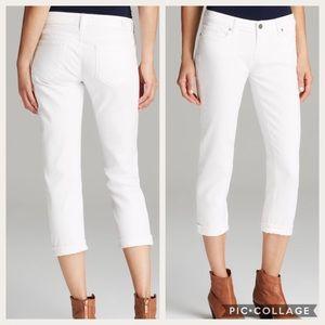 """Paige """"Jimmy Jimmy"""" Ultra White Skinny Jeans"""